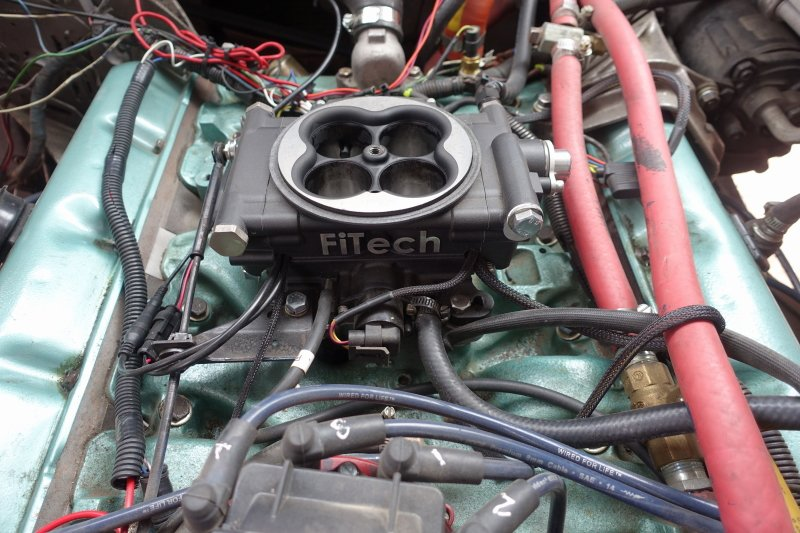 FiTech Fuel Injection with Fuel Command Center Installation