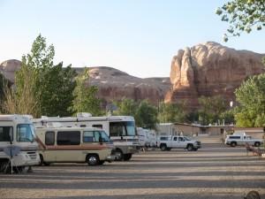 Cadillac Ranch Rv Park In Bluff Utah Gmcmotorhome